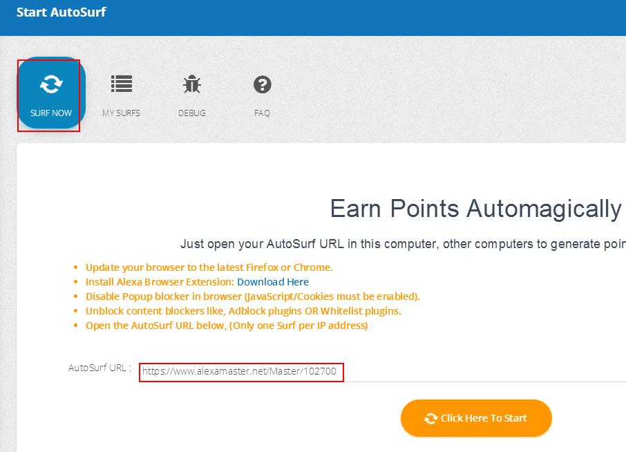 alexamaster利用闲置VPS挂机浏览广告赚钱