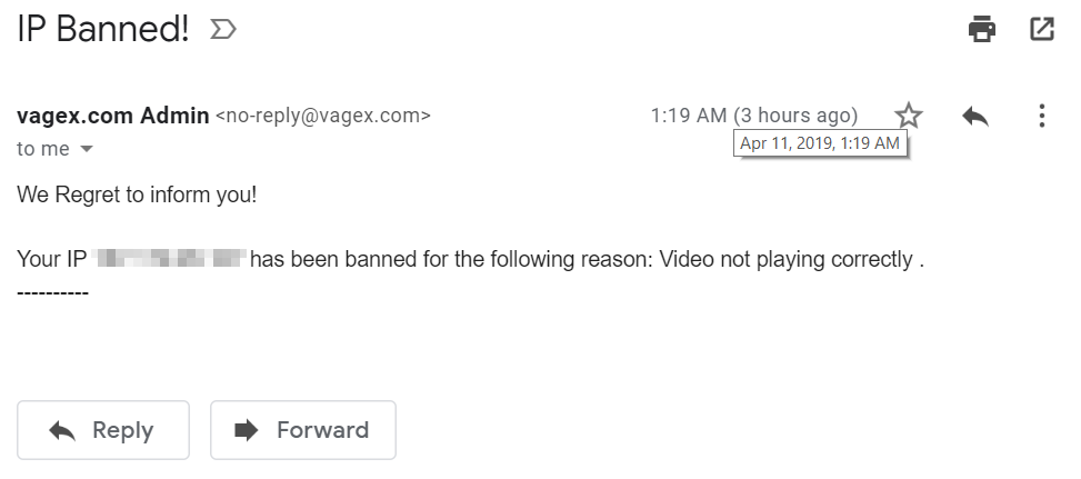 IP Banned!